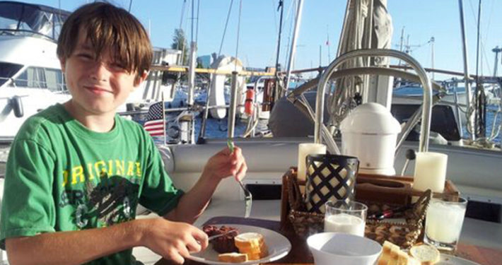 summer camp in barca a vela