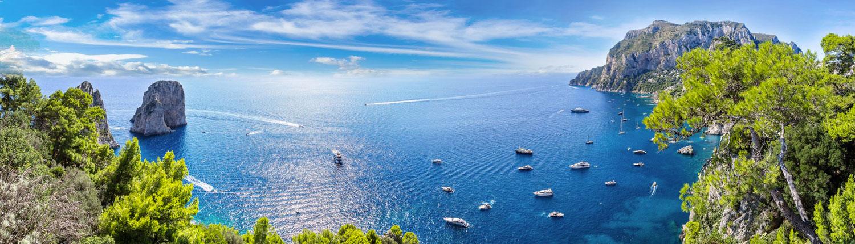 flottiglia Starboard in Costiera Amalfitana